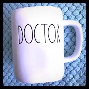 """Rae Dunn mug """"doctor"""""""